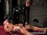 Euro Whore Dominates worthless sub guy