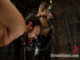 """From Worthless To Fine In Five Mistresses: Movie 3, """"Chastity CBT"""""""