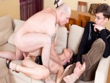 Lover meets cuckolded hubby